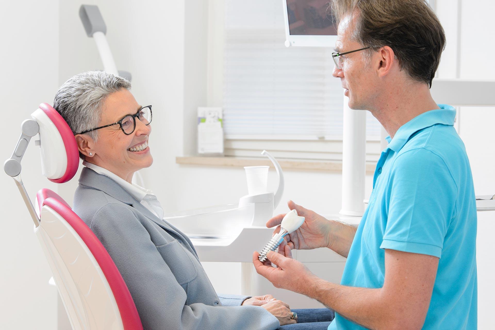 Implantate sichern Ihre Lebensqualität